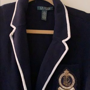 RARE Ralph Lauren Classic 100 Cotton Jacket Navy